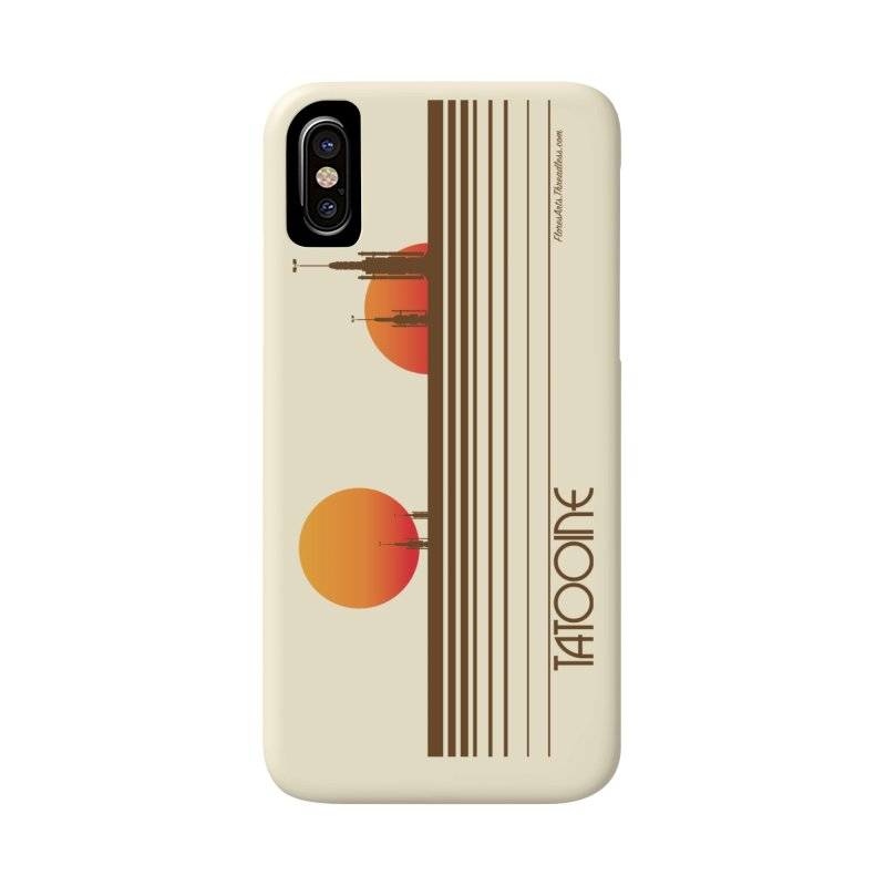 Visit Tatooine Accessories Phone Case by FloresArts