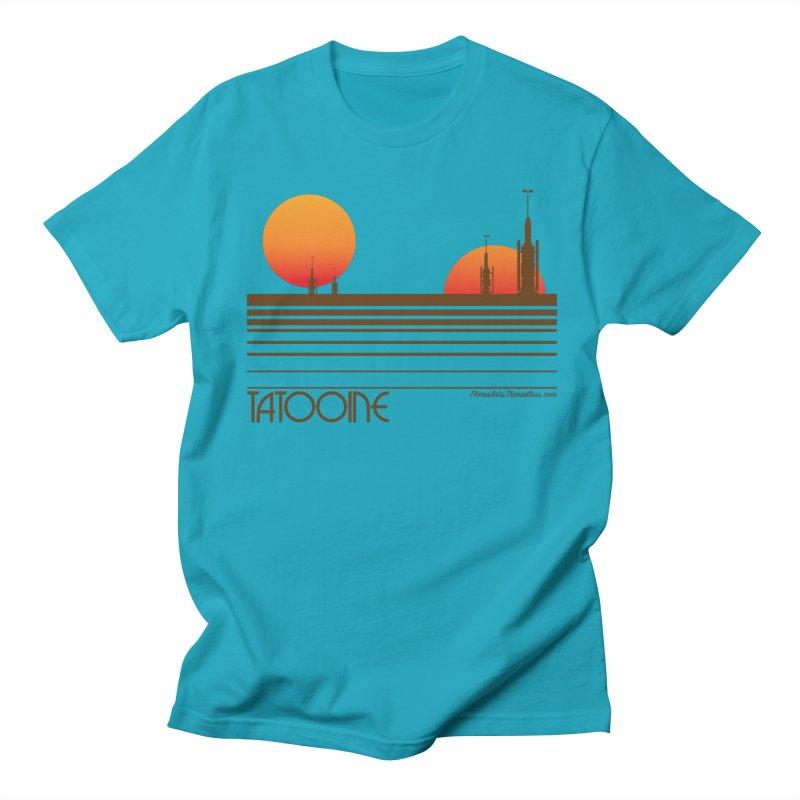 Visit Tatooine Men's T-shirt by FloresArts