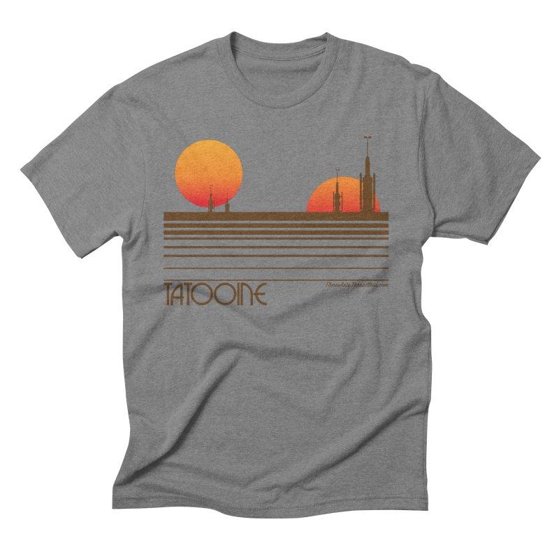 Visit Tatooine Men's Triblend T-shirt by FloresArts