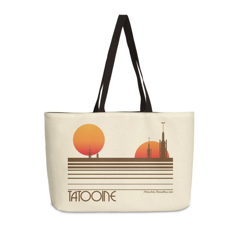 Visit Tatooine Accessories Weekender Bag Bag by FloresArts