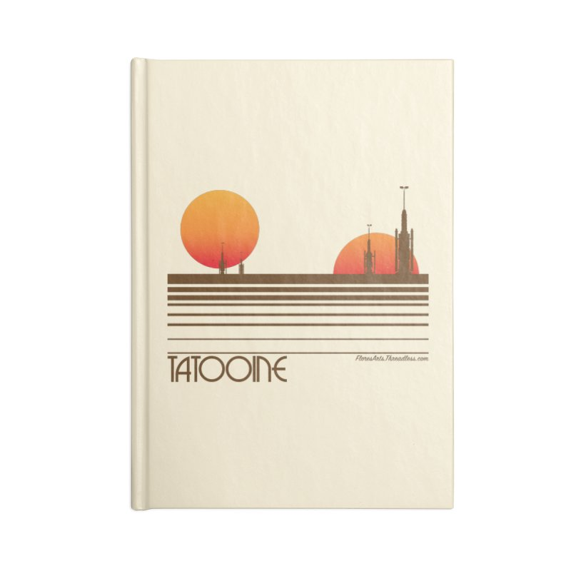 Visit Tatooine Accessories Notebook by FloresArts