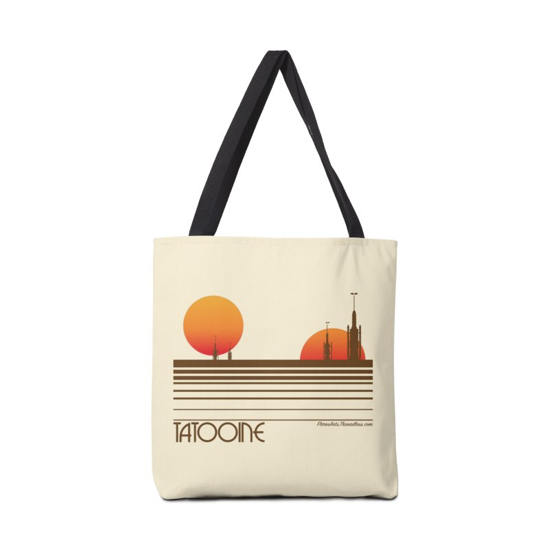 Visit Tatooine Accessories Bag by FloresArts