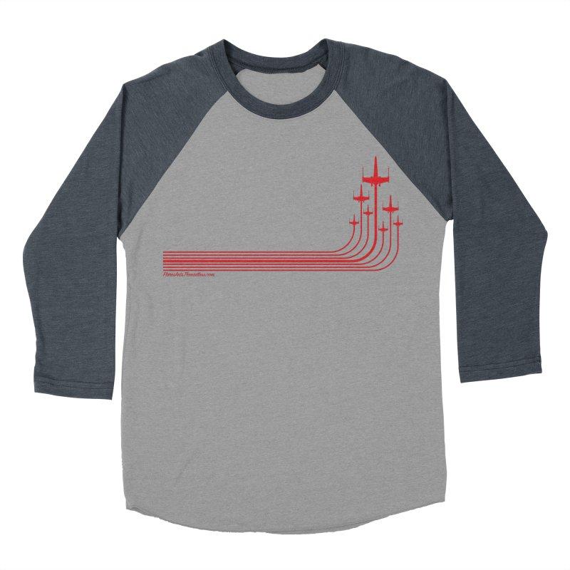 X-Wings Women's Baseball Triblend T-Shirt by FloresArts