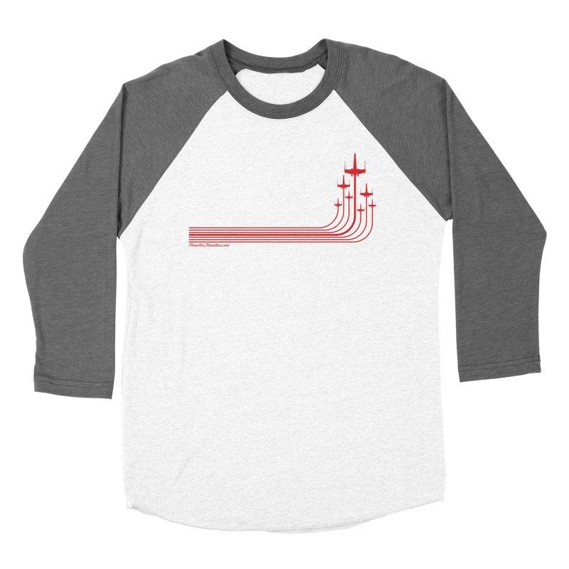 X-Wings Men's Baseball Triblend Longsleeve T-Shirt by FloresArts