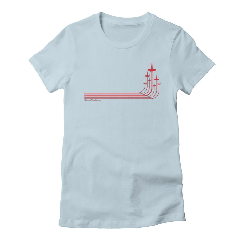X-Wings Women's Fitted T-Shirt by FloresArts