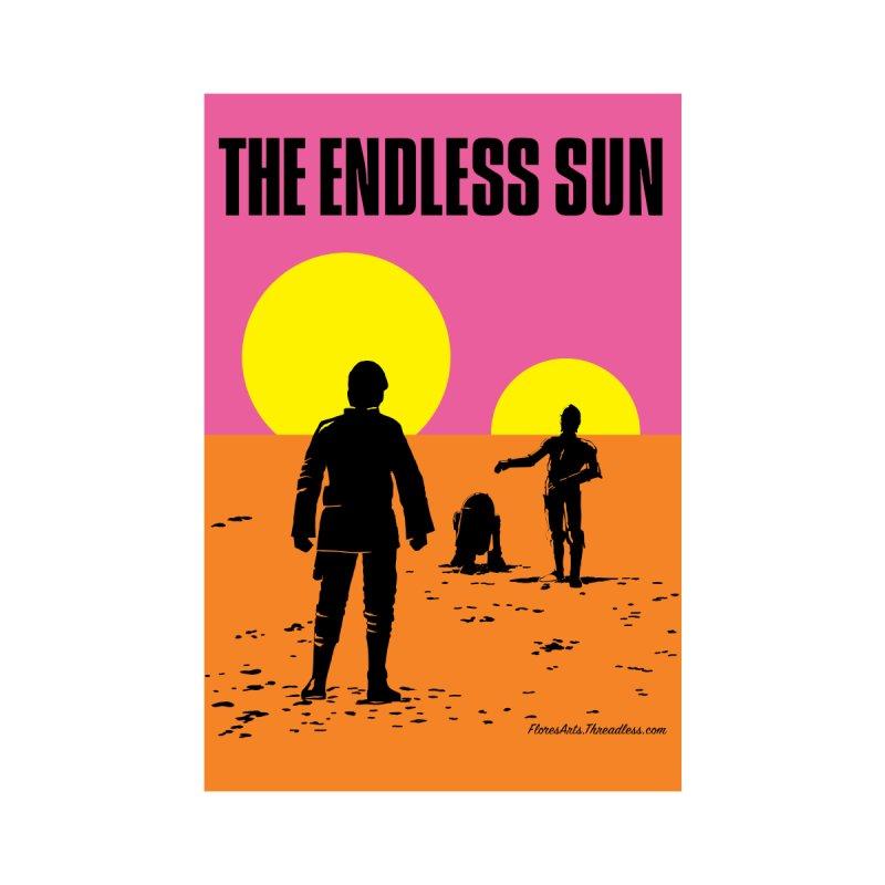 The Endless Sun - Portrait Wall Art by FloresArts