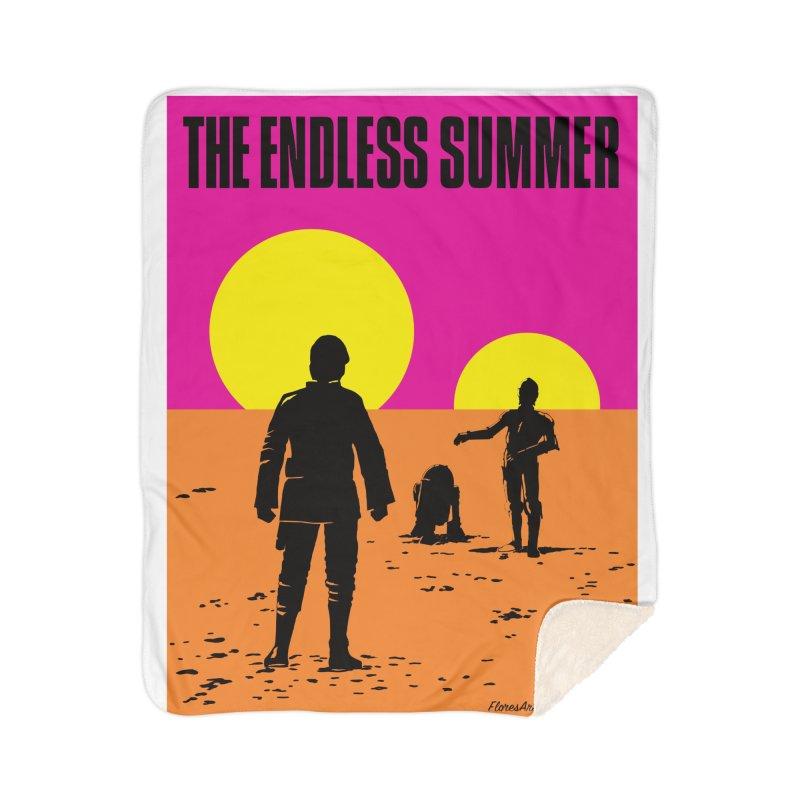 The Endless Summer Home Sherpa Blanket Blanket by FloresArts