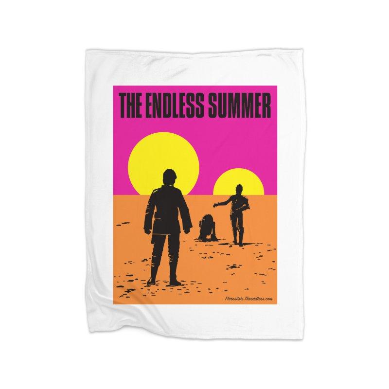 The Endless Summer Home Blanket by FloresArts