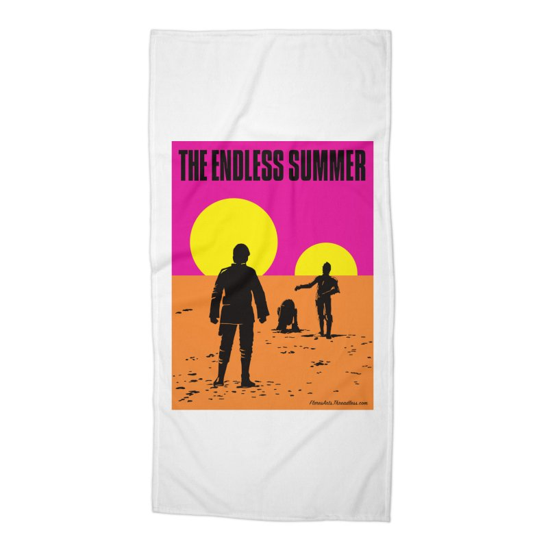 The Endless Summer Accessories Beach Towel by FloresArts