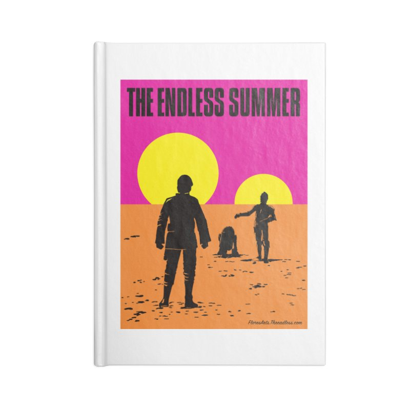 The Endless Summer Accessories Notebook by FloresArts
