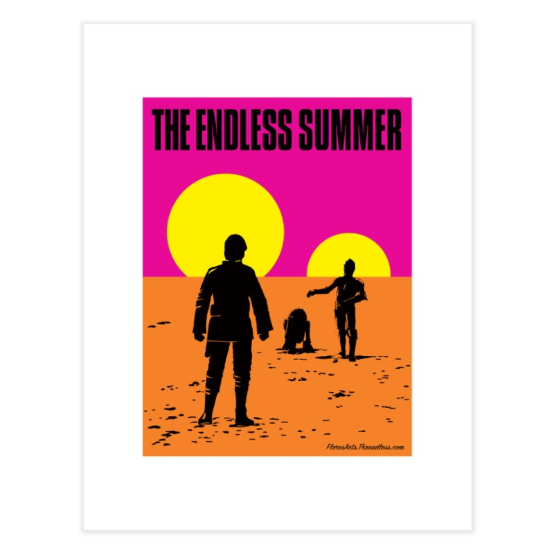 The Endless Summer Home Fine Art Print by FloresArts