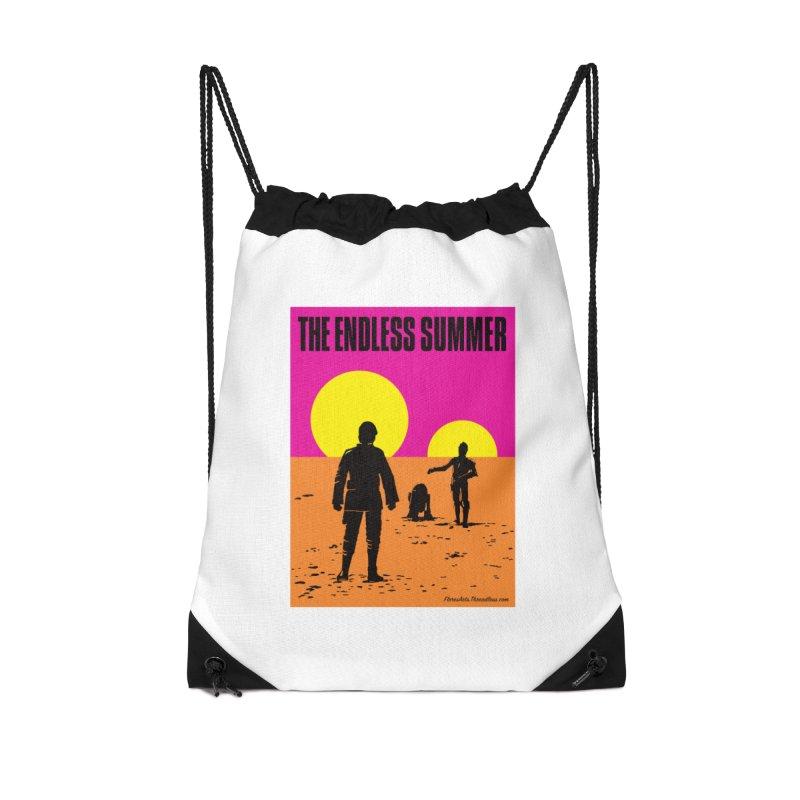 The Endless Summer Accessories Drawstring Bag Bag by FloresArts