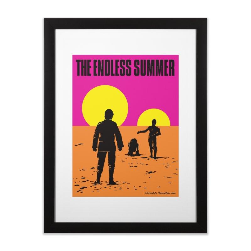 The Endless Summer Home Framed Fine Art Print by FloresArts