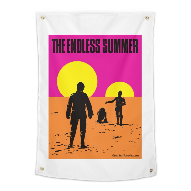 The Endless Summer Home Tapestry by FloresArts