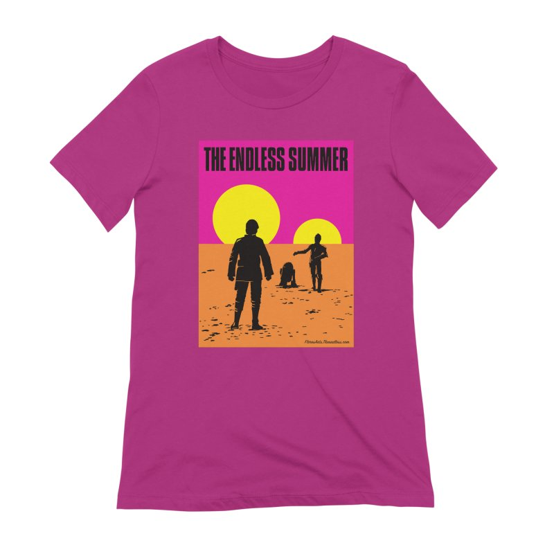 The Endless Summer Women's Extra Soft T-Shirt by FloresArts