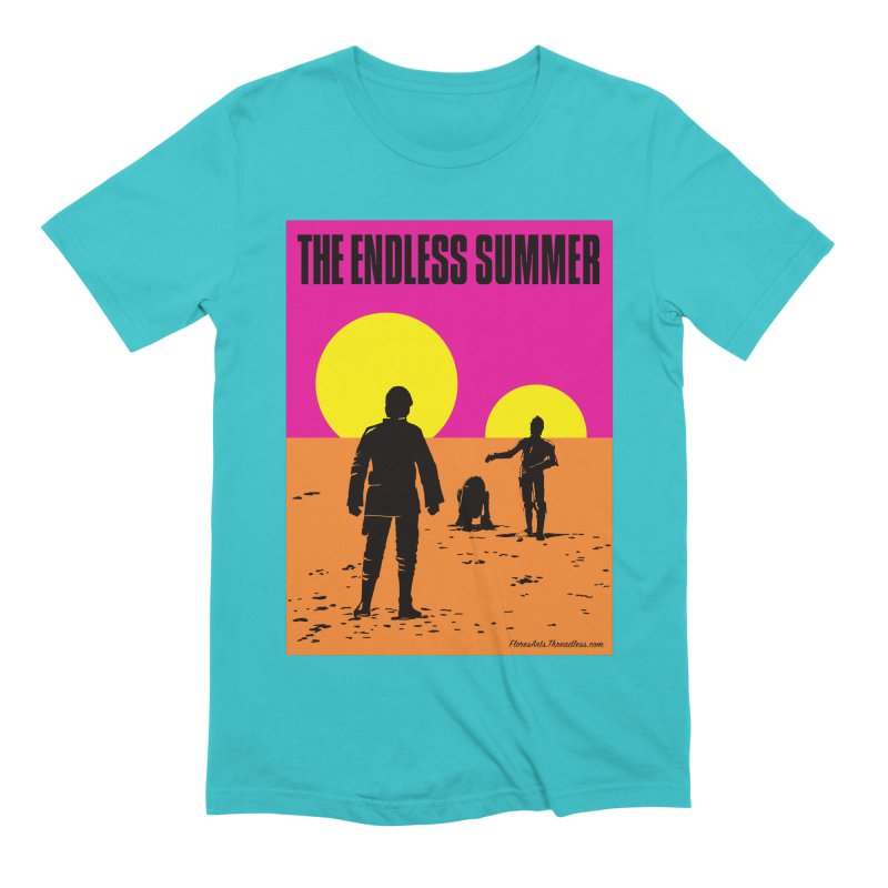 The Endless Summer Men's Extra Soft T-Shirt by FloresArts