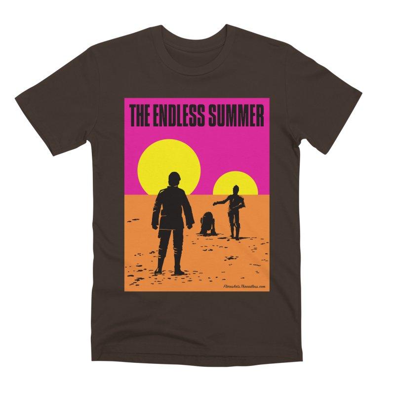 The Endless Summer Men's Premium T-Shirt by FloresArts