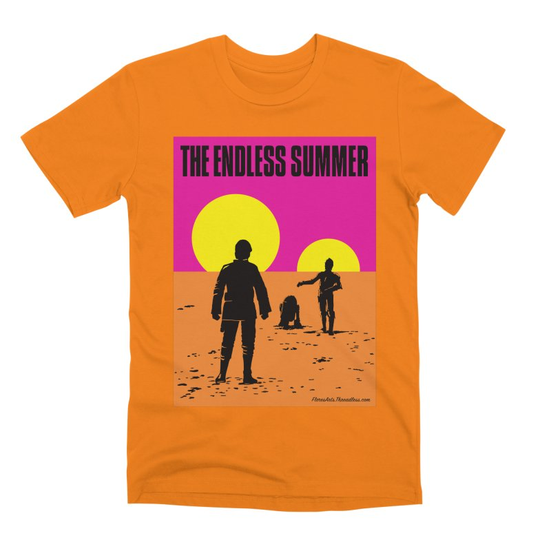 The Endless Summer Men's Premium T-Shirt by FloresArts