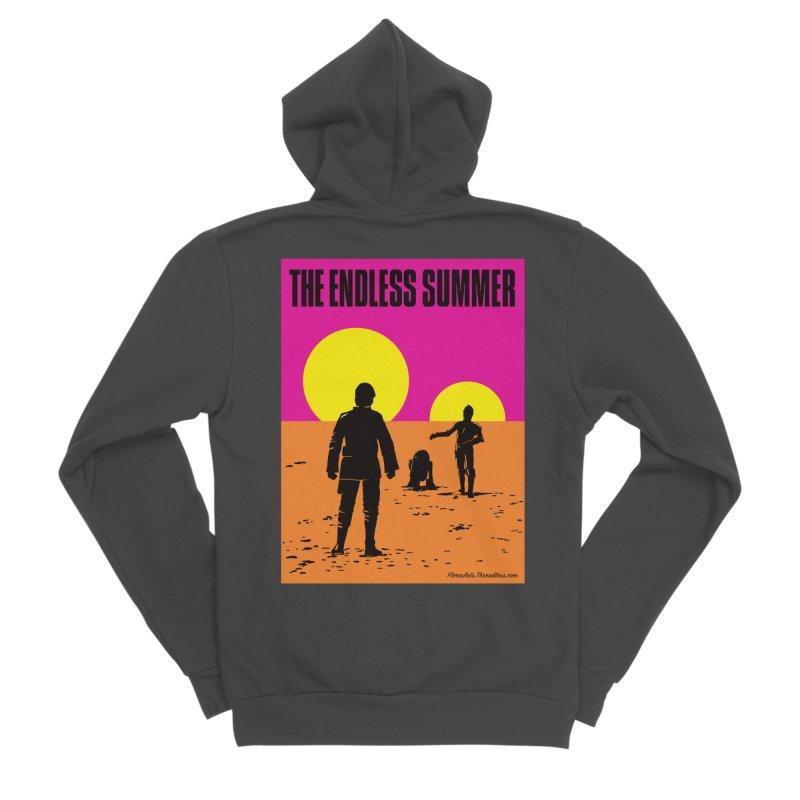 The Endless Summer Men's Sponge Fleece Zip-Up Hoody by FloresArts