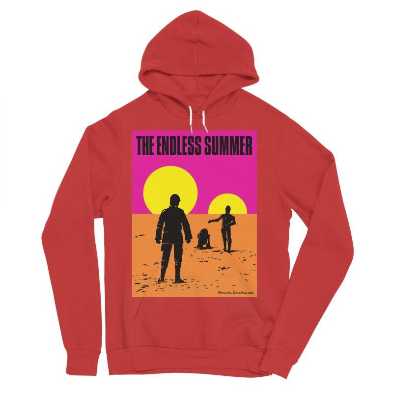 The Endless Summer Men's Sponge Fleece Pullover Hoody by FloresArts