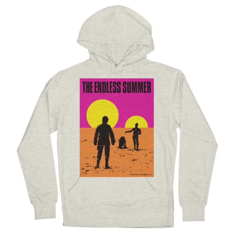 The Endless Summer Men's French Terry Pullover Hoody by FloresArts