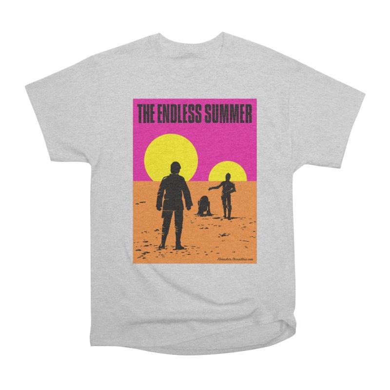 The Endless Summer Women's Heavyweight Unisex T-Shirt by FloresArts