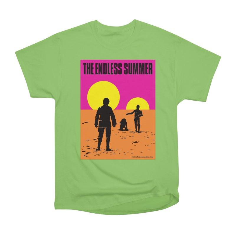 The Endless Summer Men's Heavyweight T-Shirt by FloresArts