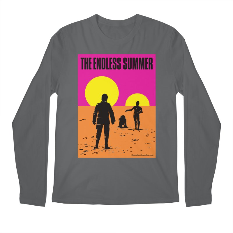 The Endless Summer Men's Regular Longsleeve T-Shirt by FloresArts