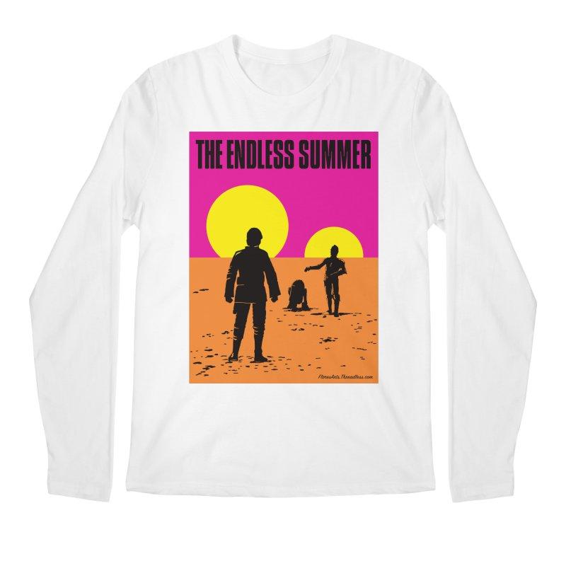 The Endless Summer Men's Regular Longsleeve T-Shirt by FloresArts