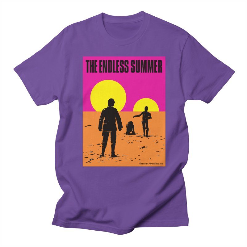 The Endless Summer Men's Regular T-Shirt by FloresArts