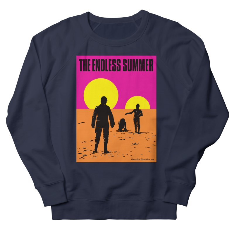 The Endless Summer Women's French Terry Sweatshirt by FloresArts