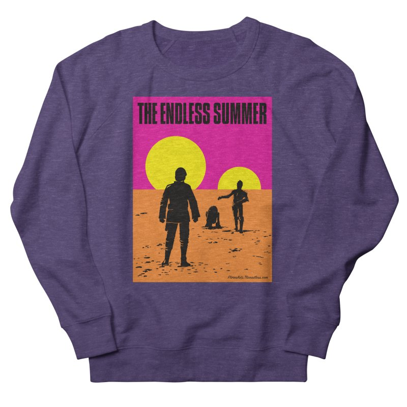 The Endless Summer Men's French Terry Sweatshirt by FloresArts