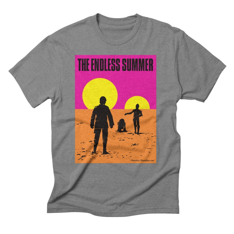 The Endless Summer Men's Triblend T-Shirt by FloresArts