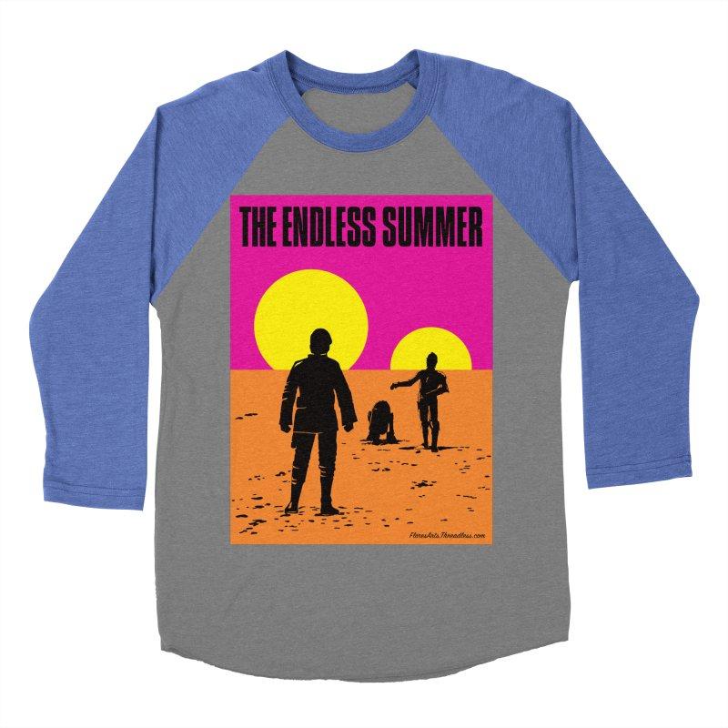 The Endless Summer Women's Baseball Triblend Longsleeve T-Shirt by FloresArts