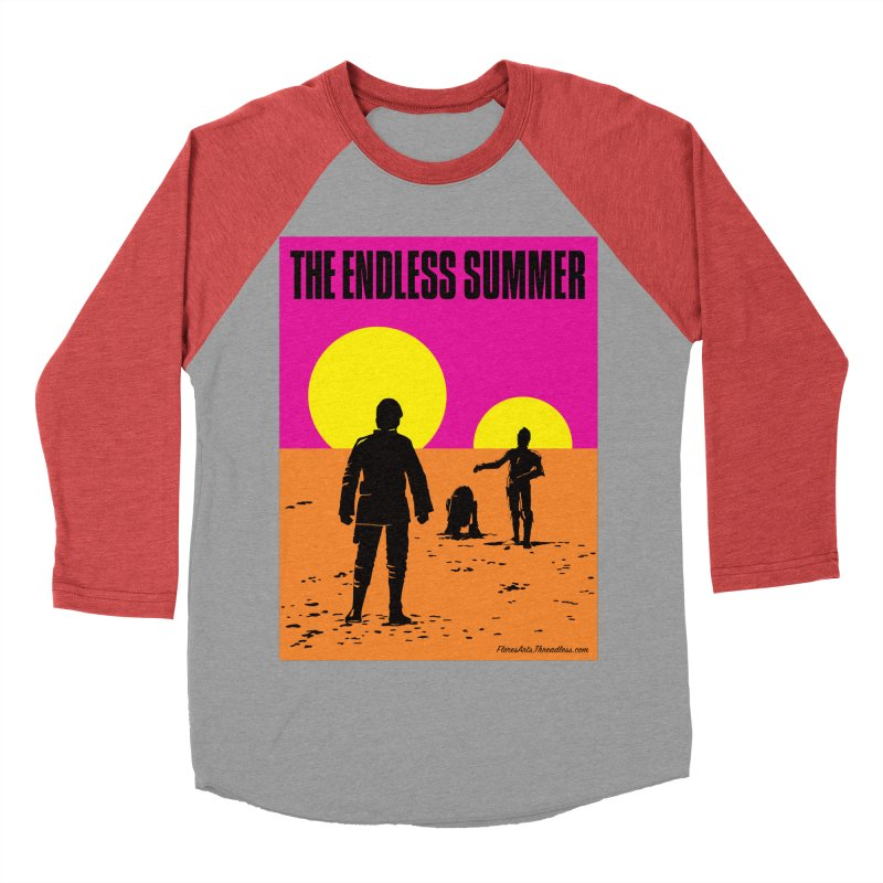 The Endless Summer Women's Baseball Triblend Longsleeve T-Shirt by FloresArts