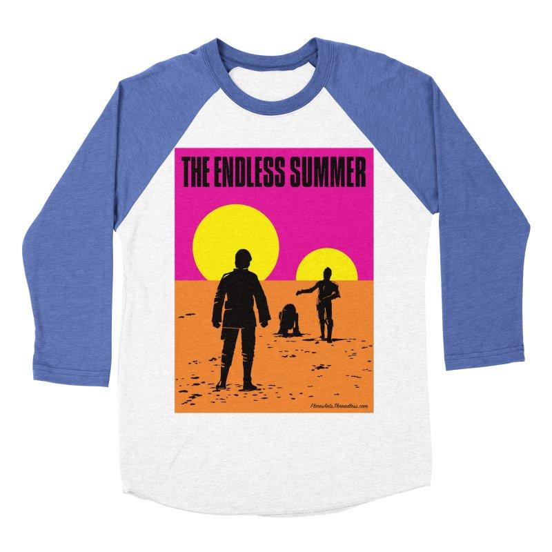 The Endless Summer Men's Baseball Triblend Longsleeve T-Shirt by FloresArts