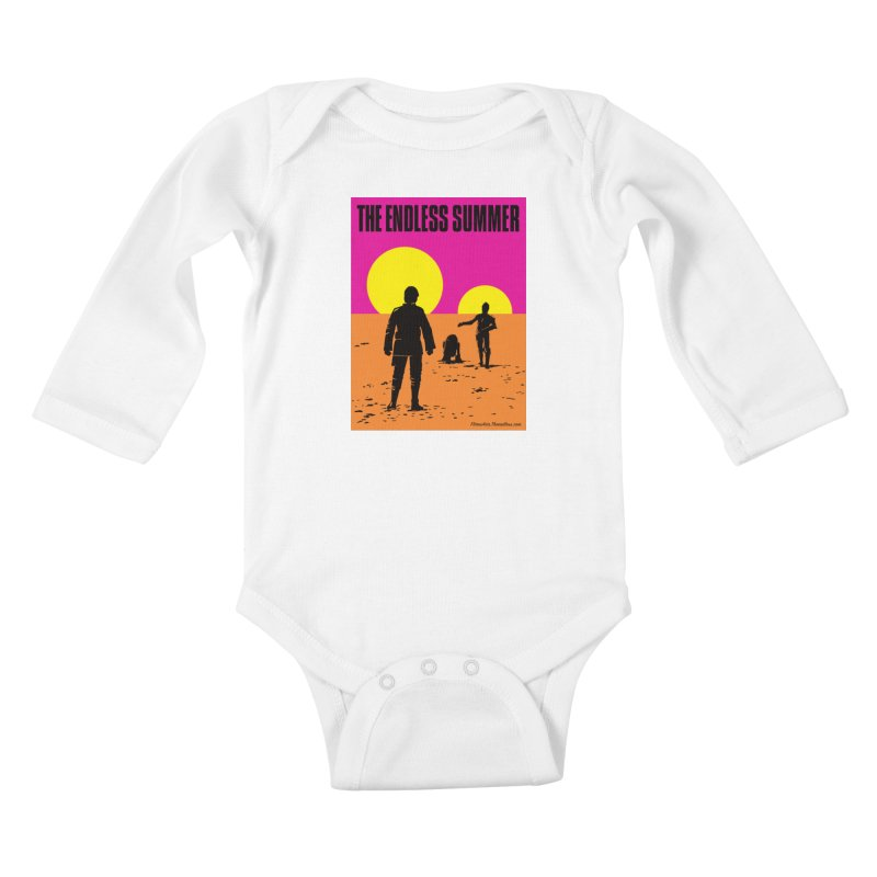 The Endless Summer Kids Baby Longsleeve Bodysuit by FloresArts