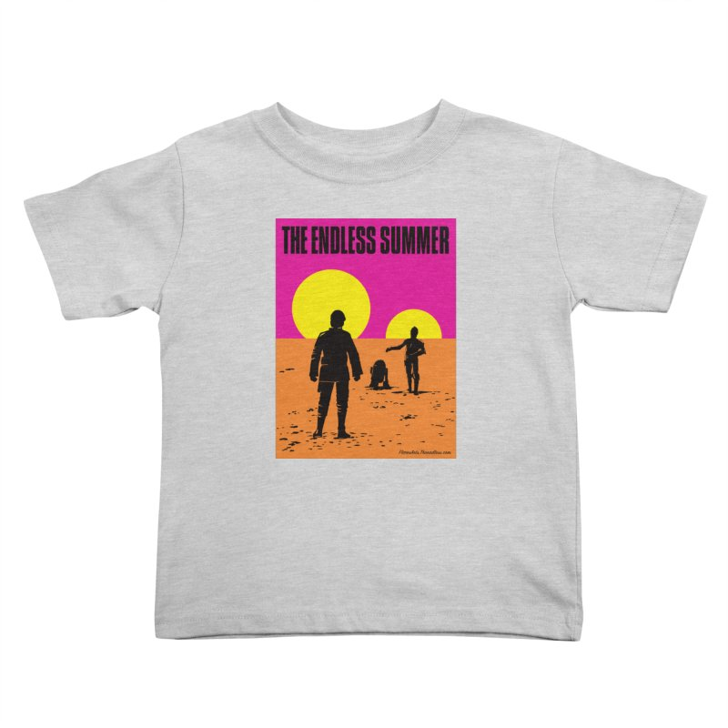 The Endless Summer Kids Toddler T-Shirt by FloresArts