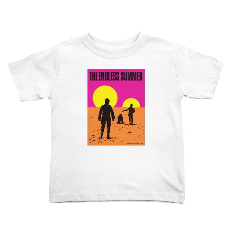 The Endless Summer Kids Toddler T-Shirt by FloresArts