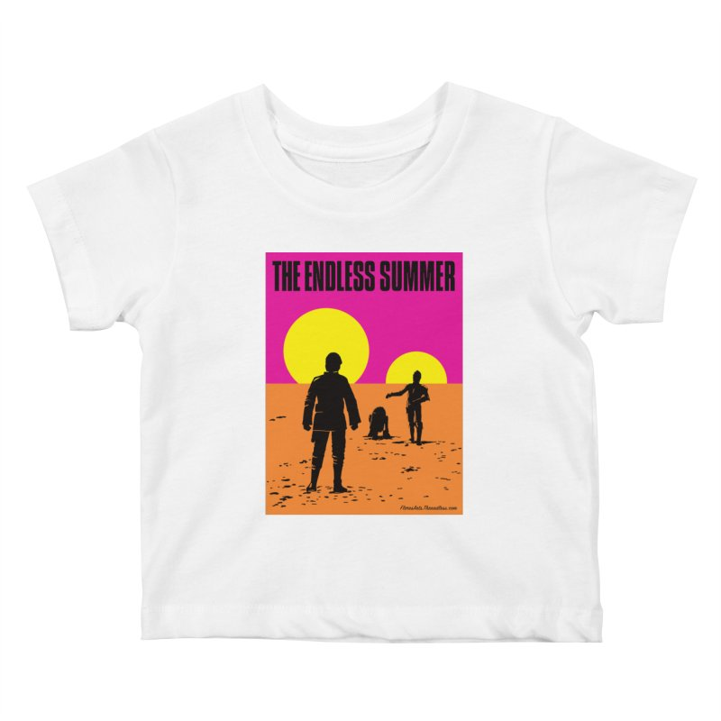 The Endless Summer Kids Baby T-Shirt by FloresArts