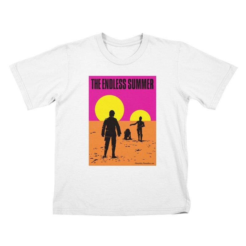 The Endless Summer Kids T-Shirt by FloresArts