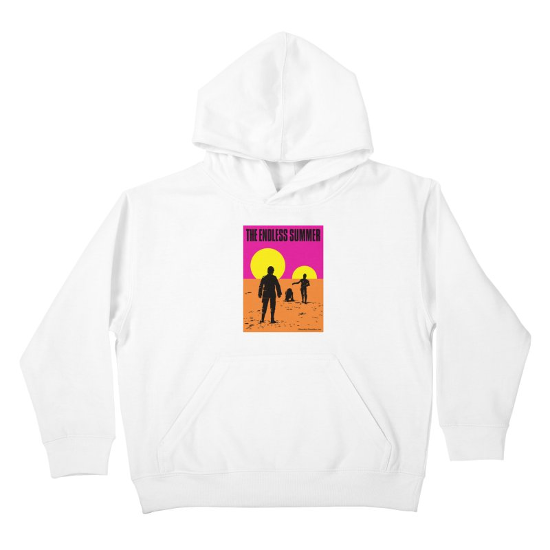 The Endless Summer Kids Pullover Hoody by FloresArts