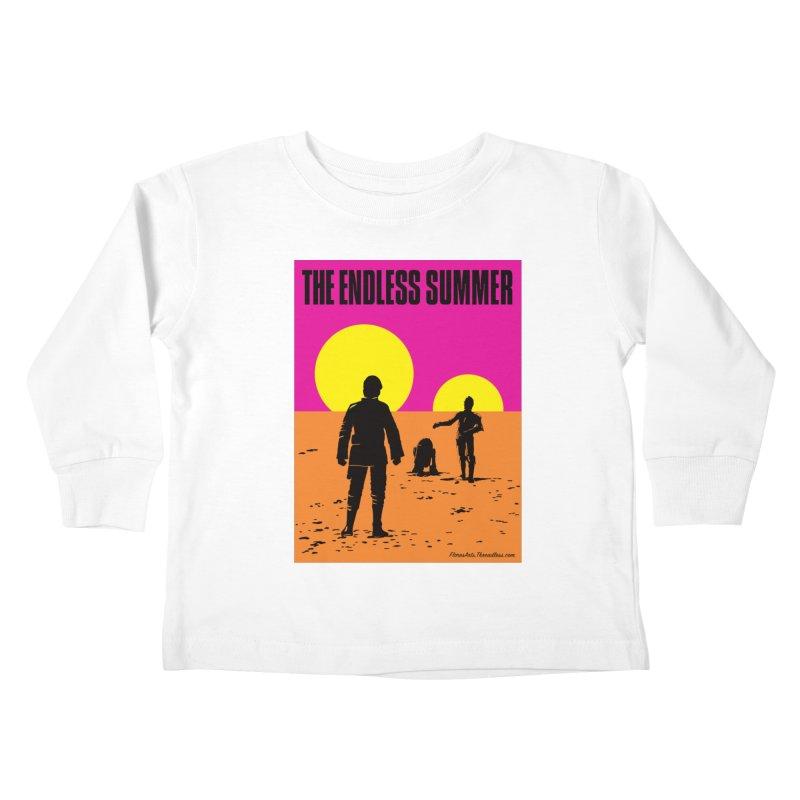 The Endless Summer Kids Toddler Longsleeve T-Shirt by FloresArts