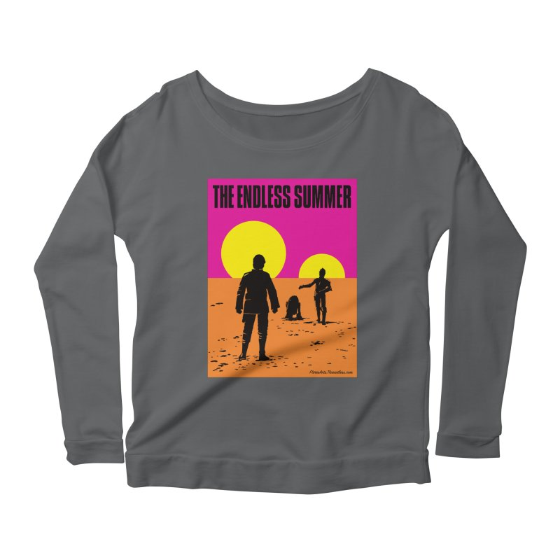 The Endless Summer Women's Scoop Neck Longsleeve T-Shirt by FloresArts