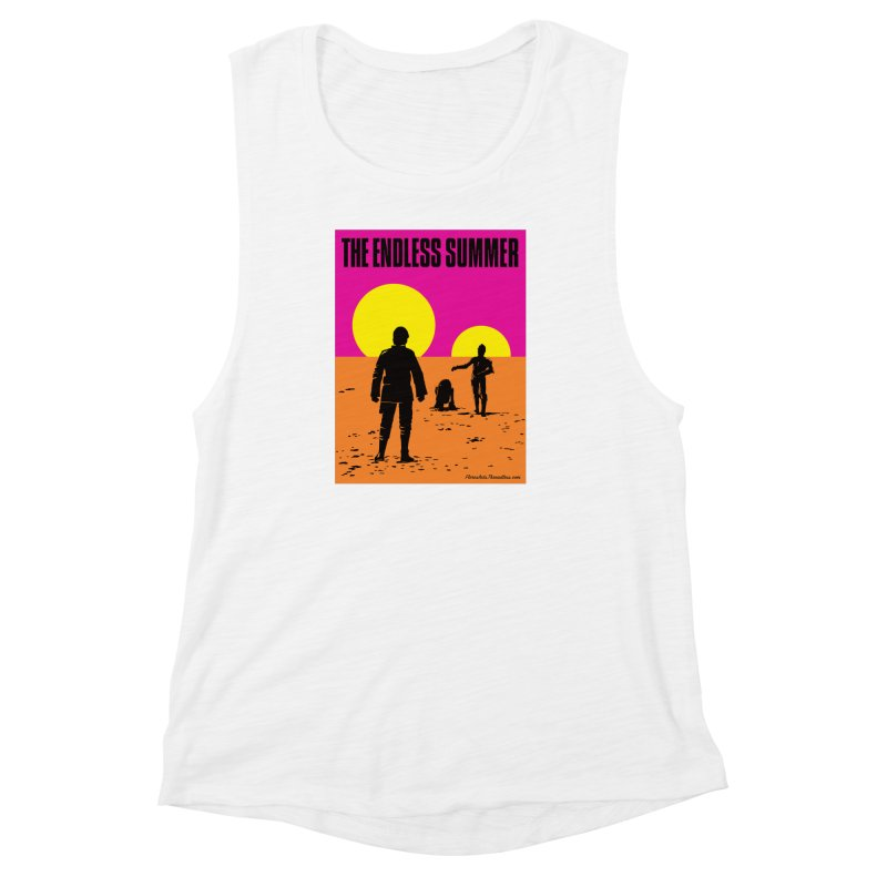The Endless Summer Women's Muscle Tank by FloresArts