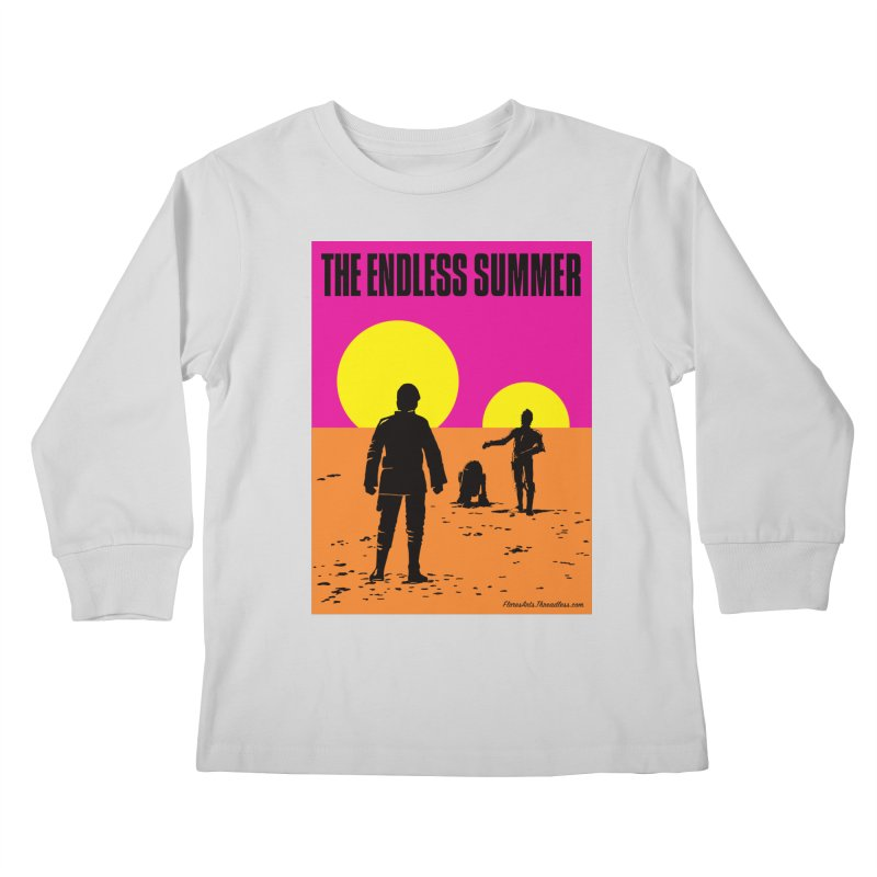 The Endless Summer Kids Longsleeve T-Shirt by FloresArts