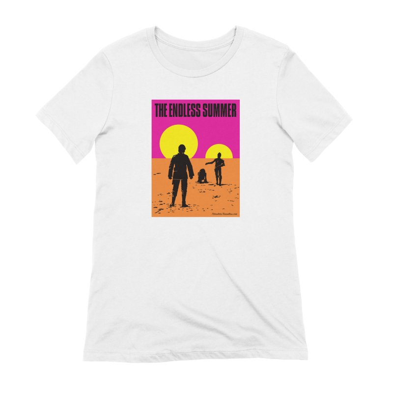 Endless Summer Women's Extra Soft T-Shirt by FloresArts