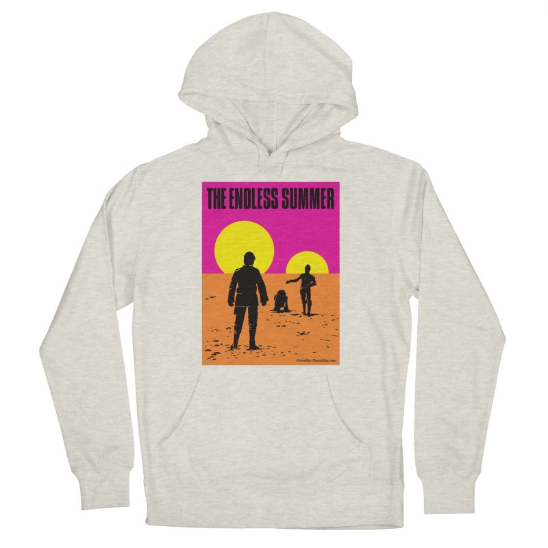 Endless Summer Men's French Terry Pullover Hoody by FloresArts