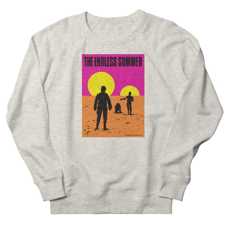 Endless Summer Men's French Terry Sweatshirt by FloresArts