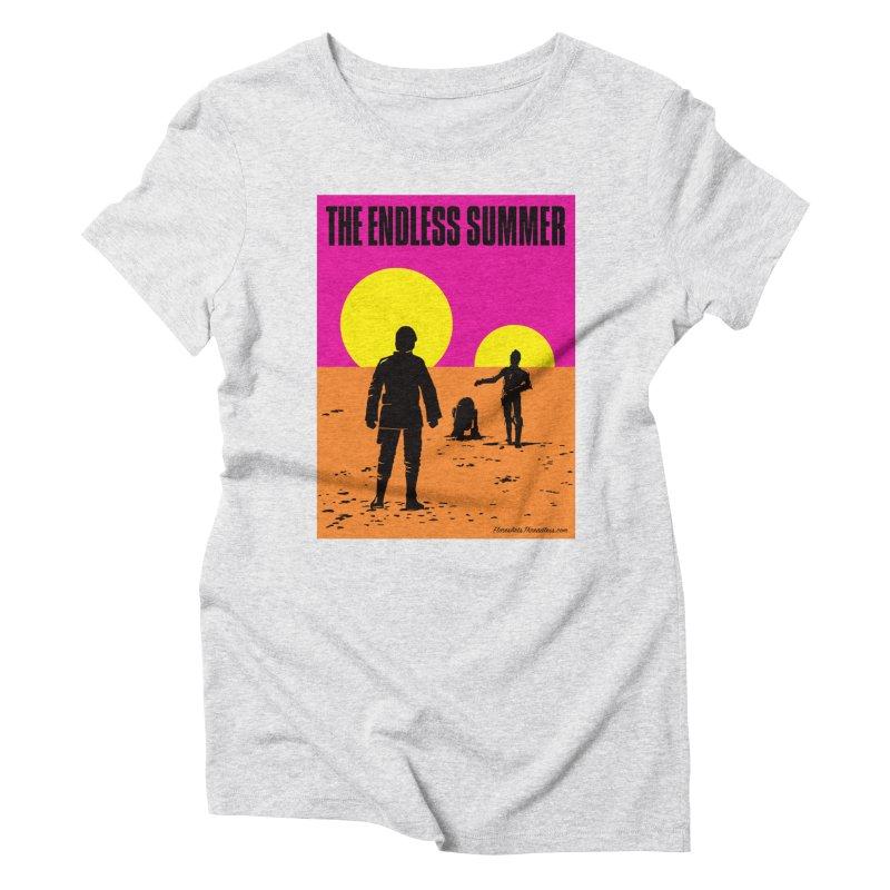 Endless Summer Women's Triblend T-Shirt by FloresArts